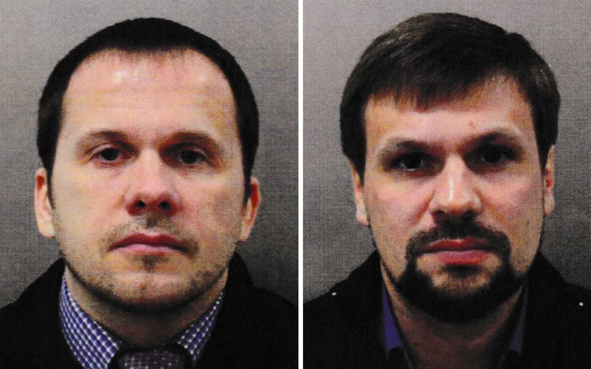 Alexander Petrov (left) and Ruslan Boshirov, whose true identity has now been revealed, carried out the attack. Фото: The Telegraph
